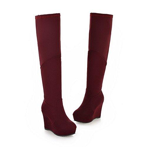 BalaMasa alte da donna, con tacco alto in Snow Boots Claret