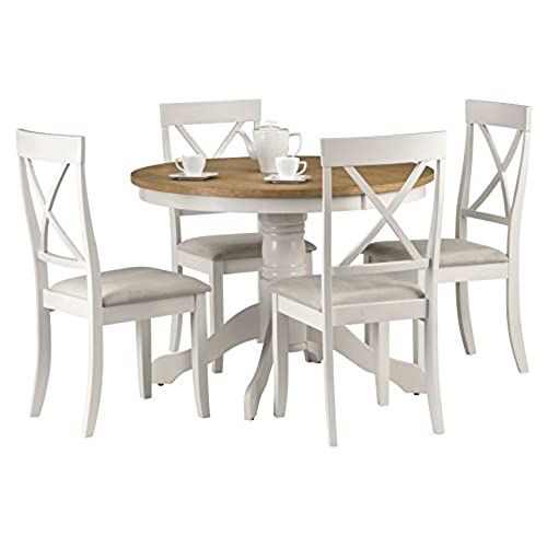 Kitchen Table Vt Round kitchen table and chairs amazon workwithnaturefo