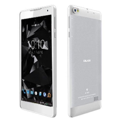 Celkon Diamond 4G Tab 8 Tablet (16GB, 8 Inches, WI-FI) Silver & White, 1GB RAM Price in India