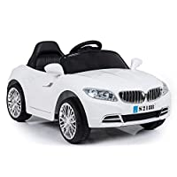 Ricco S2188 Lights and Music Pink BMW Style Kids Ride on Remote Control Car