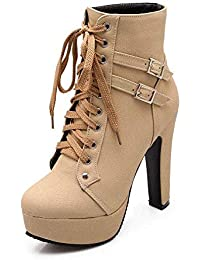 Donna Scarpe Amazon Scarpe it Da Tacco Con 35 gPYfwqY5