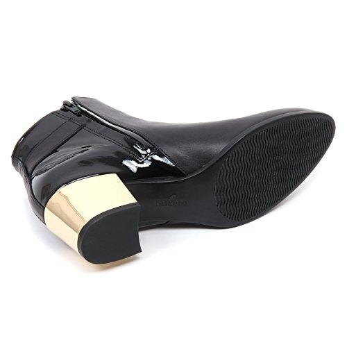 B7422 tronchetto donna HOGAN H272 stivaletto nero boot shoe woman Nero