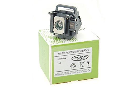 Alda PQ-Premium, Beamerlampe / Ersatzlampe für EPSON EB-1830, EB-1900, EB-1910, EB-1913, EB-1915, EB-1920W, EB-1925W, POWERLITE 1925W Projektoren, Lampe mit Gehäuse
