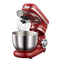 Household Stand Mixer 4L, 1200W, 6-Speed Food Mixer, Kitchen Electric Mixer with Dough Hook, Whisk, Beater, Bowl, Free Hands Mixer