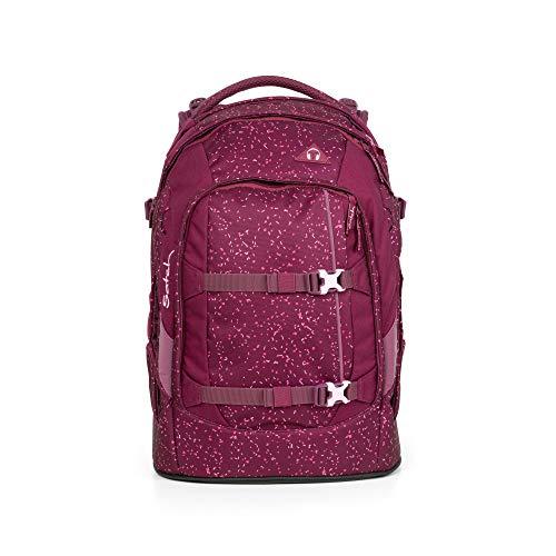 Satch Pack Berry Bash, ergonomischer Schulrucksack, 30 Liter, Organisationstalent, Beere/Pink