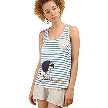 GISELA Pijama de Mujer con Estampado Mafalda 2/1495