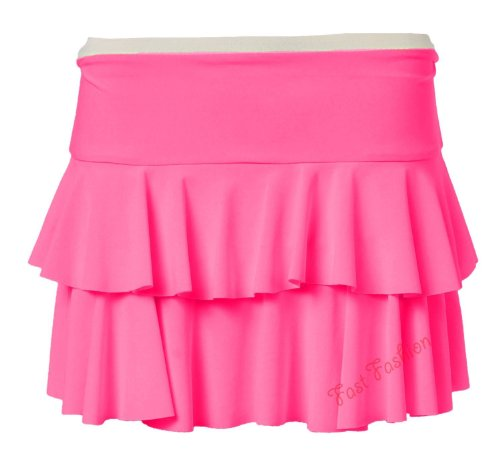 Fast Fashion - Mini JupeTutu Flashy - Femme Rose