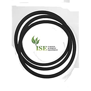 ISE® Replacement Deck Belt Replaces Part Numbers: 131264, 532131264 Fits Models: AYP/ROPER/SEARS: T1136B, WP1036A HUSQVARNA: LR100, LR110, LR120, LT125
