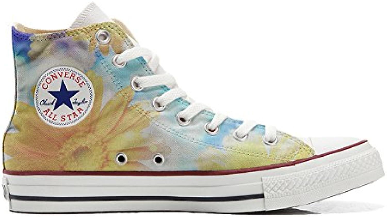 Converse All Star zapatos personalizados (Producto Artesano) Primavera girasol  -