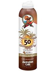 Australian Gold SPF 50 Premium Coverage Spray plus Bronzer, 10133, 1er Pack (1 x 0.177 l)