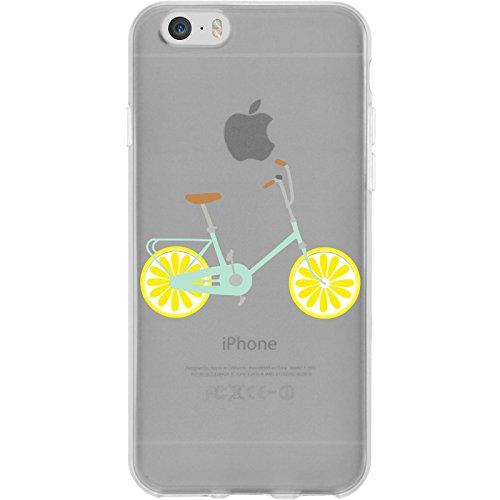 PhoneNatic Case für Apple iPhone 6s / 6 Silikon-Hülle Bike M3 Case iPhone 6s / 6 Tasche + 2 Schutzfolien Motiv 5