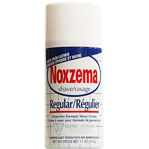Noxzema Shave Cream Regular 11 Unzen (Packung mit 12) -