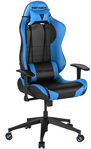Vertagear VG-SL2000_BL Gaming Siège Faux Cuir Noir/Bleu 53 x 52 x 140 cm