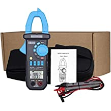 SLSS Auto Range LCD Digital Clamp Meter Multimeter AC/DC Capacitance Frequency