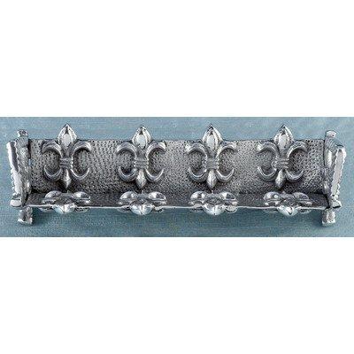 KINDWER Fleur-De-Lis Cracker Stand, Silver by KINDWER (Fleurs Cracker)