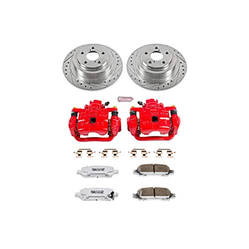 Power Stop KC3124-26 Z26 Street Warrior Brake Kit with Powder Coat