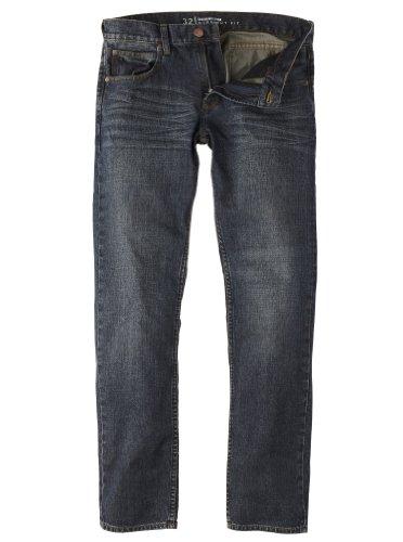 Quiksilver Herren Jeans Revolver, engine blue, 38, KPMPT483MEGB-38 -