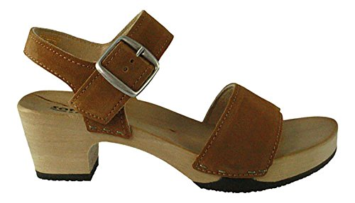 Softclox | Kea Sandal Plateau - Marron | Sable Beige