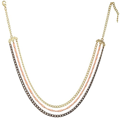 sempre-london-fashion-multi-layered-neckalce-3-chain-strand-18ct-rose-gold-plated-for-women