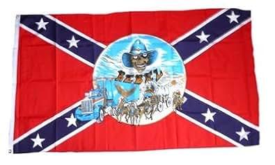 FahnenMax drapeau südstaaten buggy 90 x 150 cm