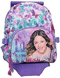 Preisvergleich für Rucksack baby DISNEY VIOLETTA tasche freizeit schule violet mit trolley VZ822