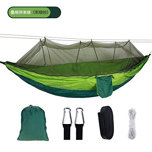 WESYY Hamac Suspendu, Camping, en, pour Outdoor, Voyage, Excursion, Randonné,Durable et Portable 260X140CM
