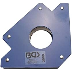 BGS 3009 Support magnétique, Bleu, 32kg