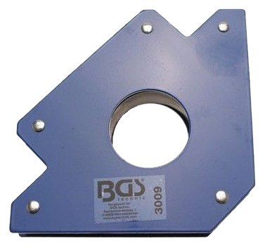 BGS 3009 Support magnétique Bleu, 32kg