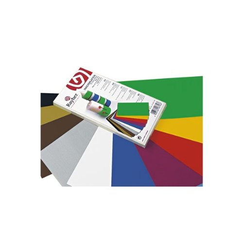 RAYHER 3102749 Verzierwachs, 10 Farben sortiert, 20 x 10 cm, gemischt