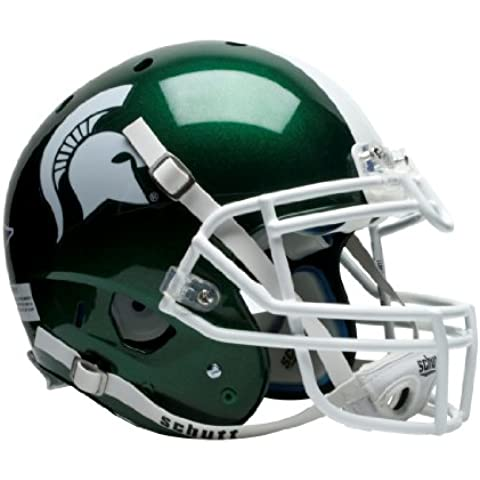 NCAA Michigan State Spartans auténtico casco de fútbol XP