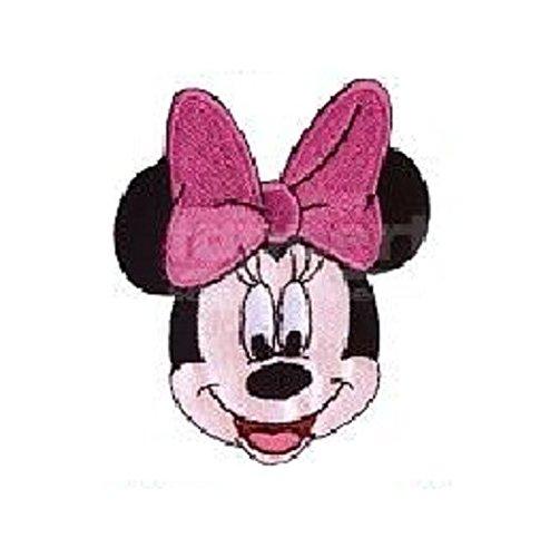 Disney Applikationen * Flicken zum Aufbügeln, Aufnähen * Micky Maus * Minnie Pluto Donald Daisy* Prym (Clubhouse Minnie Kopf) (Minnie Maus Kopf)