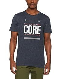Jack & Jones Jcoscone Tee Ss Crew Neck, T-Shirt Homme