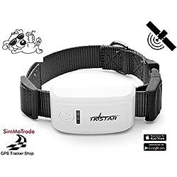 Simmotrade® TKSTAR 909 GPS Tracker für Hunde und größere Tiere, für Hauskatzen Nicht geeignet. Deutscher GPS Tracker Shop, deutsche Beschreibung, Telefon Support