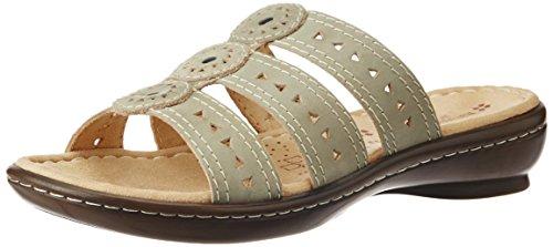 Naturalizer Women's Janae Beige Leather Fashion Sandals - 5 UK/India (38 EU) (6748987)