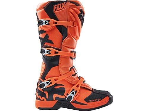FOX Comp 5 2018 4 - Stivali da motocross, per bambini, colore: arancio