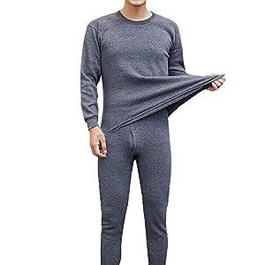 Herren Trainingsanzug Jogging Anzug Kompressionsanzug Funktions Thermounterwäsche Set Atmungsaktiv Sportanzug Jogginganzug Winter Warm Freizeitanzug für Running