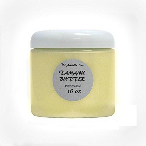 Premium Organic Tamanu Butter 100% Pure Raw Cold Pressed 16 oz/ 1 Lb