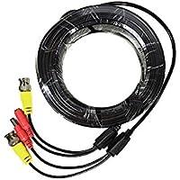 PNI CCTV 20M Netzteil und Videokabel für Analoge AHD Überwachungskameras