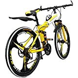 Foldable Adventure Sports MTB Cycle with 21 (Derailleurs) Gears