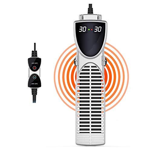 DJLOOKK Aquarium Heizung Rod Mit LED-Temperaturanzeige Für Schnelle Heizung, Übertemperaturgeschützte Aquarium Heizung Für Große Aquarien,1200W