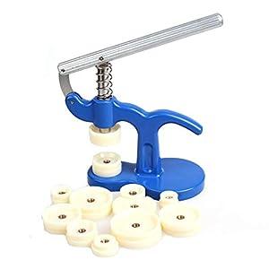 Allright Uhr Einpresswerkzeug Uhr Reparatur Werkzeug Uhrenschließer Uhren Gehäuseschließer Uhrmacherwerkzeug Stifte Gehäuseöffner