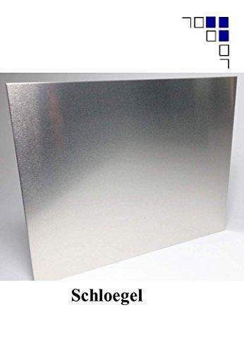 4mm Aluminium Zuschnitte eins. Folie 200x200