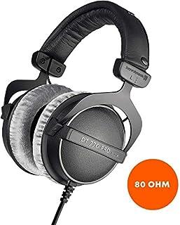 beyerdynamic DT 770 PRO 80 Ohm Over-Ear-Studiokopfhörer in schwarz. Geschlossene Bauweise, kabelgebunden für professionelles Recording und Monitoring (B0016MNAAI)   Amazon price tracker / tracking, Amazon price history charts, Amazon price watches, Amazon price drop alerts