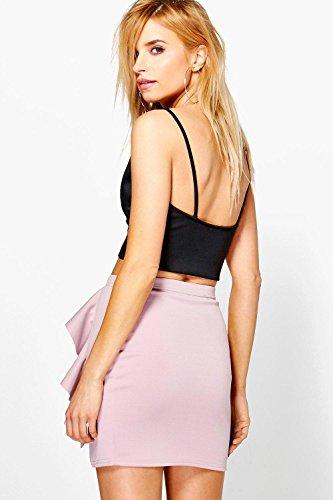 Nerz Damen Daisy Ruffle Front Split Mini Skirt Nerz
