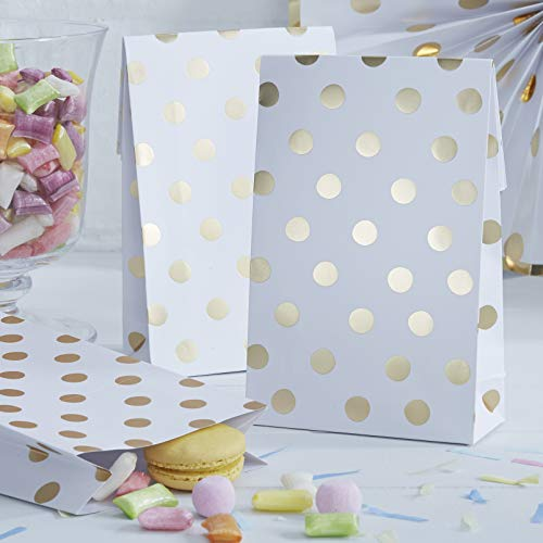 Foiled Polka Dot Party Bags ()