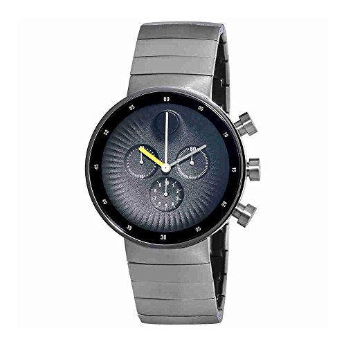 Para hombre Movado borde 3680009–Reloj cronógrafo