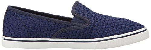 Lauren Ralph Lauren Janis Fashion Sneaker Modern Navy Woven