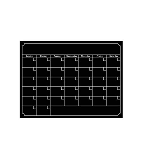 Mengonee Wiederverwendbare Magnet trockenen löschen Kalender Wochenmonatsplaner Brett Kühlschrank Schedule-Magnet-Aufkleber