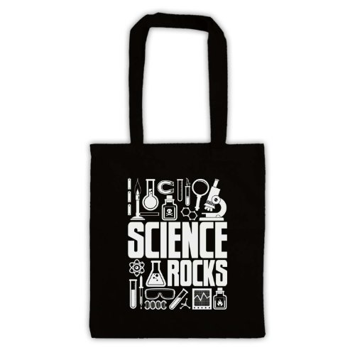 Science Lab-Borsa per attrezzatura da urlo Nero