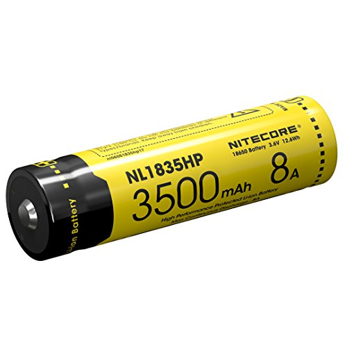 Preisvergleich Produktbild Nitecore Li-Ion Akku 18650 - 3500mAh - NL1835HP